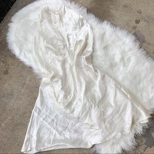 NWT Vintage Victoria's Secret Gold Label Silk Slip